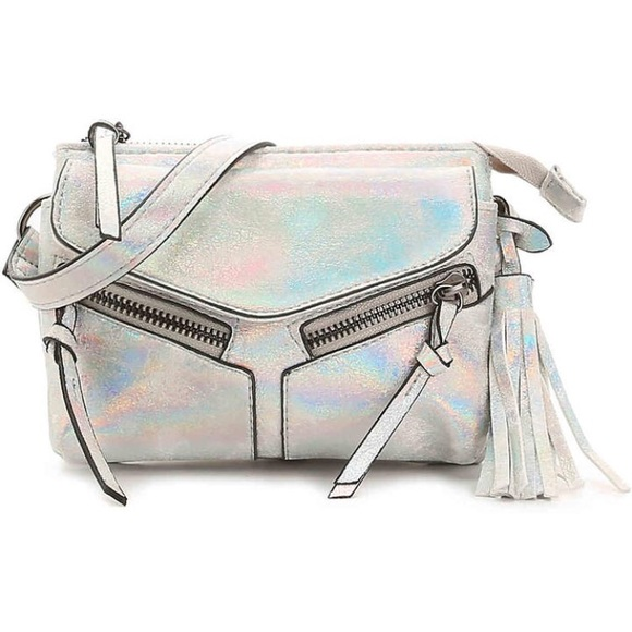 2afe20335ac3 NWT- PERFECT CONCERT MINI IRIDESCENT CROSSBODY